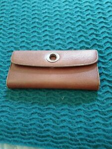 OROTON Leather Wallet Purse Brown B13