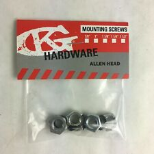 Grind King Skateboard Truck Axle lock nuts Washers Speed Rings Nuts