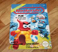 1994 Vintage Club Nintendo Magazine Kirby's Pinball Land Dream Adventure Zelda