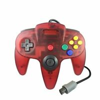 Watermelon Red N64 Gamepad Controller (for Nintendo 64) Tight Joystick Free Ship