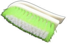 Professional Quality D Shaped Stiff Bristle Upholstery Carpet Brush Car Valeting