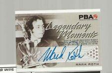 Mark Roth PBA  Legendary Moments autograph by Rittenhouse