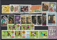 Ghana Stamps - including some Football Ref 24958