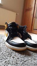 Nike Air Jordan 1 Yellow ochre Best mano en The Game, deadstock, US 12, Laces
