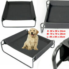 S/M/L Portable Waterproof Dog Pet Elevated Bed Outdoor Raised Camping Basket