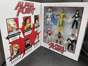 Marvel Legends - Alpha Flight Action Figure 6-Pack Exclusive Set 80-Year Edition