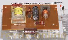 KIT riparazione per REVOX a77 accoglienza-relè, 1.077.715, repairkit record relay
