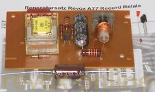 Conjunto de reparación para Revox a77 grabación-relés, 1.077.715, repairkit record Relay