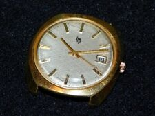 BELLE ANCIENNE MONTRE HOMME LIP - PLAQUEE OR