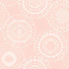 Rasch Papel Pintado Little Bandits 128860 Ornamento Flor Rosa No Tejido