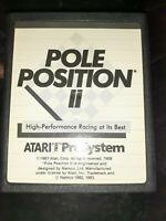 Pole Position II (Atari 7800, 1986) *BUY 2 GET 1 FREE +FREE SHIPPING*