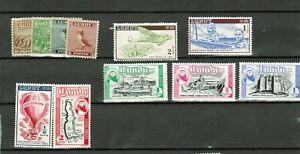 LUNDY (Great Britain) Mint Sets incl. air mails