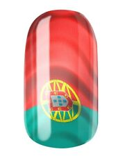 NAGELFOLIEN PORTUGAL FLAGGE - NAIL WRAPS by GLAMSTRIPES 0455