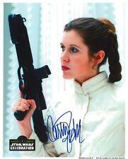 Carrie Fisher ++ Autogramm ++ Autograph ++ Star Wars ++ Krieg der Sterne