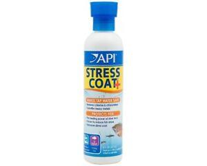API Stress Coat + Plus Aloe Vera Aquarium Fish Tank Tap Water Conditioner 473ml