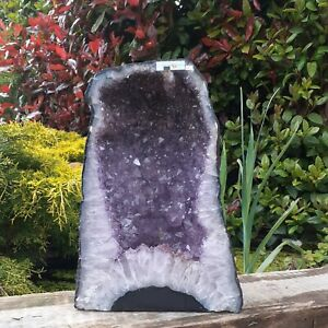 AMETHYST CHURCH / CATHEDRAL  15.72KG CAVE / HEALING CRYSTAL / GEODE -