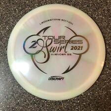 Discraft Z SWIRL TOUR SERIES AVENGER SS Ledgestone 2021 White 173-174g Disc