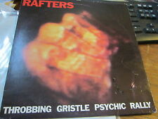 THROBBING GRISTLE RAFTERS LP ORIGINAL ITALIAN PRESS 1980 GENESIS P ORRIDGE