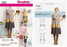 Simplicity Sewing Pattern 1080 Miss Dottie Angel Dress or Tunic Top Sz Xs-xl