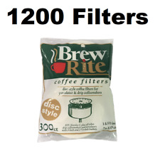 "3.5"" Disc Coffee Filter for Melitta 628354 (Package of 1200)"