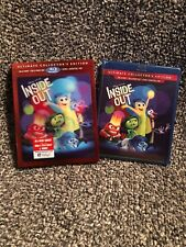 Inside Out (Blu-ray/DVD, 2015, 3D Includes Digital Copy) New With Slipcover