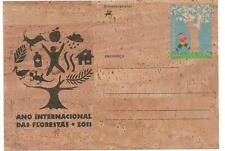 Portugal 2011 - Cork Stationery - International Year of Forests