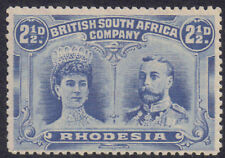 Rhodesia 1910 2.1/2d Two pence halfpenny dull blue sg 132 MH