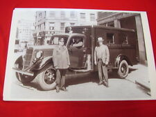 1938 FORD TRUCK  BOSTON POLICE DEPT.    BIG  11 X 17  PHOTO PICTURE