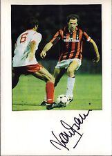Franco BARESI-AC Milano-CALCIO Originale Autografo Autograph (m-1324