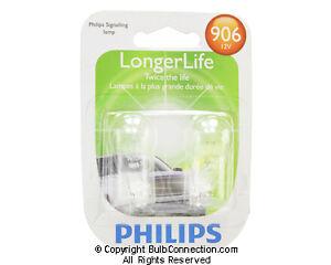 NEW Philips 906 Automotive 2-Pack 906LLB2 Bulb