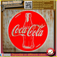 sticker autocollant coca cola drink decal coca-cola cercle rond