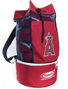 New LA Angels Backpack Cooler Baseball MLB Yakult Giveaway Beach Bag #R