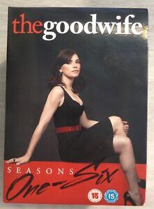 The Good Wife 1-6 season box set. NEW  Region 2