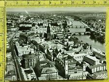 163) DEUTSCHE GERMANIA FRANKFURT AM MAIN POSTCARD CARTOLINA VIAGGIATA