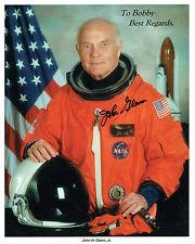 John GLENN Signed Autograph Litho Photo 2 COA AFTAL NASA Mercury Space Astronaut