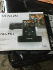 Denon Asd-11R Control Dock For Ipod New in Box Free Shipping