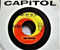 45 rpm # 47 The Beatles Can't Buy Me Love-You Can't Do That Capitol-5150 VG