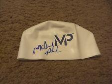 MICHAEL PHELPS Signed MP SWIM CAP b
