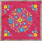 """17"""" x 16"""" Vintage Rabari Throw Embroidery Ethnic Tapestry Tribal Wall Hanging"""