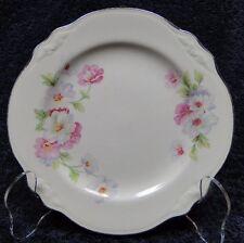 "Homer Laughlin Virginia Rose FLUFFY ROSE Bread Plate 6 1/4"" NICE"