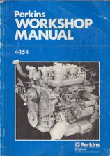 Perkins 4.154 Automotive & Motor Diesel Marino Original Fábrica Manual De Taller