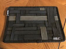 """Cocoon GRID-IT! Organizer Case Black (CPG7BK) 5"""" x 10"""" Never Used"""