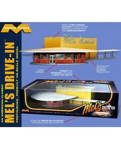 Moebius  HO MEL'S DRIVE-IN Finished  MOE2935-NEW