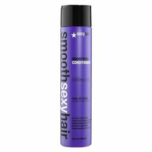 Sexy Hair Smooth Sulfate Free Smoothing Anti Frizz Conditioner, 10.1 Ounce
