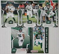 2019 Panini Rookies and Stars New York Jets Team Set 5 Card Lot with RC & Insert