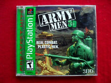 Army Men 3D (Sony PlayStation 1. PS1 Video Game 1999 * COMPLETE * TESTED & WORKS