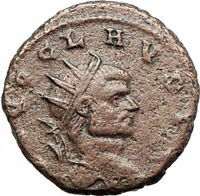 CLAUDIUS II Gothicus 270AD Ancient Roman Coin Deification issue  ALTAR i80214