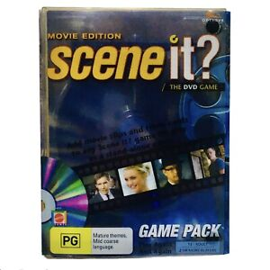 SCENE IT? The DVD Game Movie Edition Game Pack DVD Inc Cards + Dice