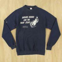 vtg usa made 80's raglan sweatshirt XL tag netro enduro riders dirt biker