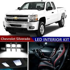 13 pcs LED Xenon Wh Light Interior Package Kit for Chevrolet Silverado 2007-2013